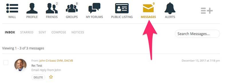 Messages Inbox